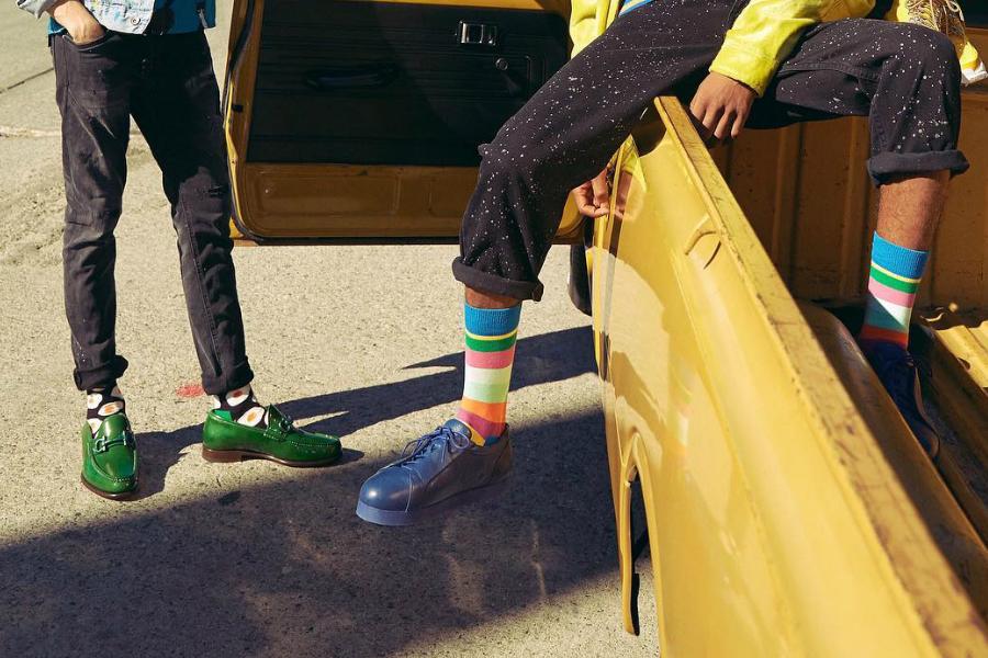 Happy Socks | 袜子界的网红,男女秋冬新款15%OFF!