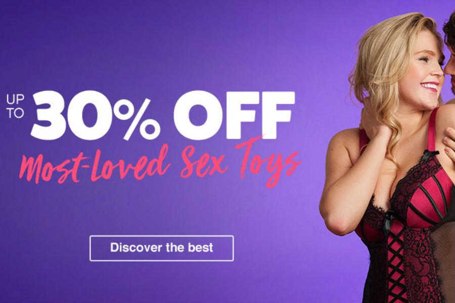 Lovehoney   高销量情趣用品高达30%OFF折扣!