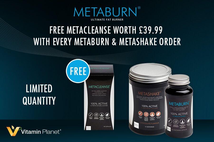 Metaburn | 纯天然植物瘦身套装73折+免费送黄金胶原蛋白面膜和减肥胶囊