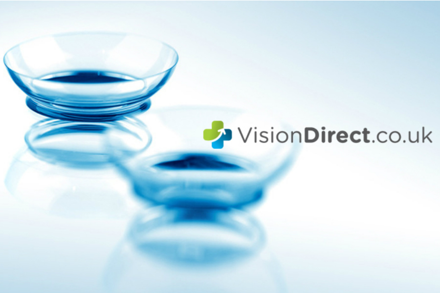 Vision Direct | 全欧第一的隐形眼镜网站首单9折!