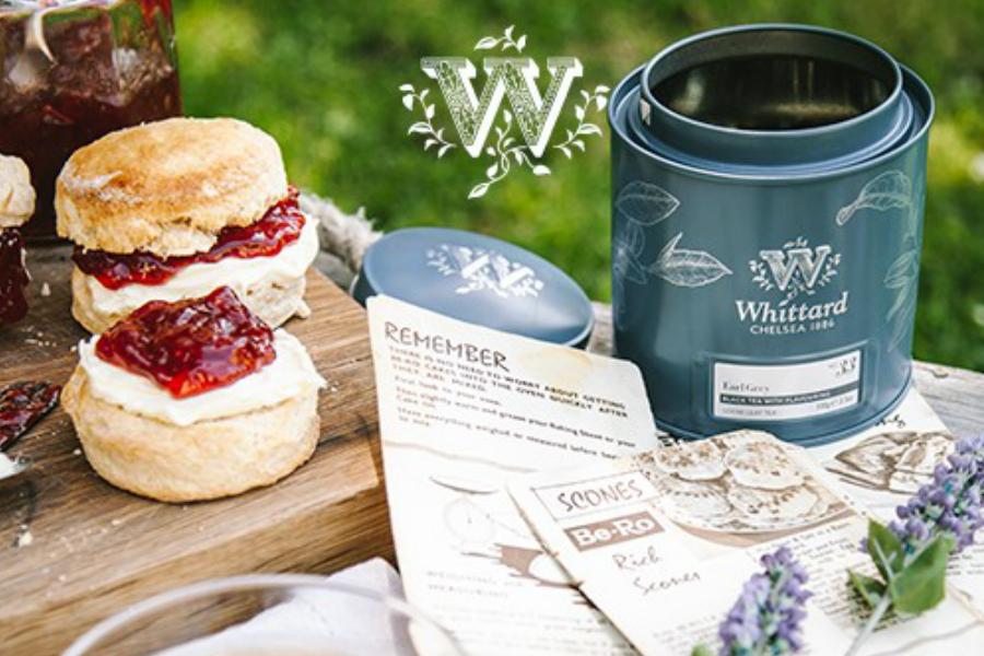 Whittard of Chelsea   满50镑就可任选正装茶或咖啡带回家!