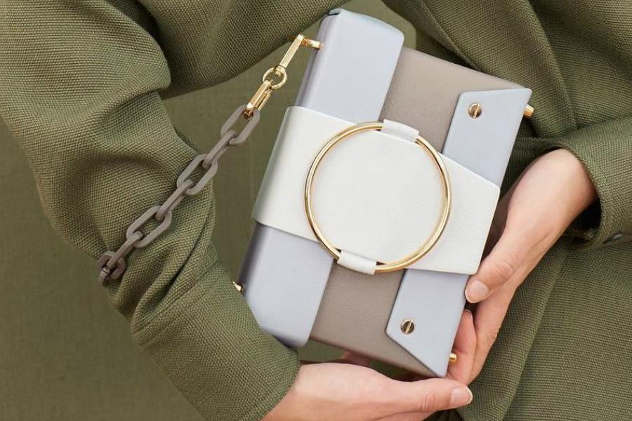 Yuzefi | 英国小众品牌包包限时79折,收大热几何款!