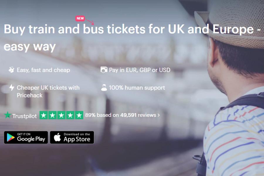 Loco2   欧洲旅行必备订票神器,独家折扣买满立减£15!