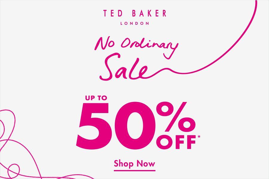 Ted Baker | 年末大促低至5折,女款外套、长裙、男款正装值得入手!