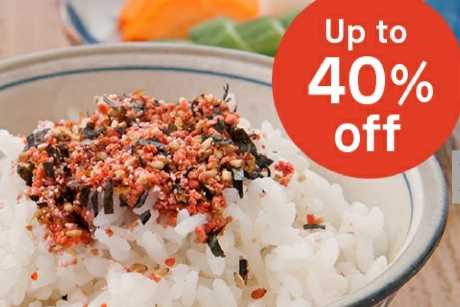 Japan Centre   超美味拌饭海苔、方便年糕红豆粥等在线6折!