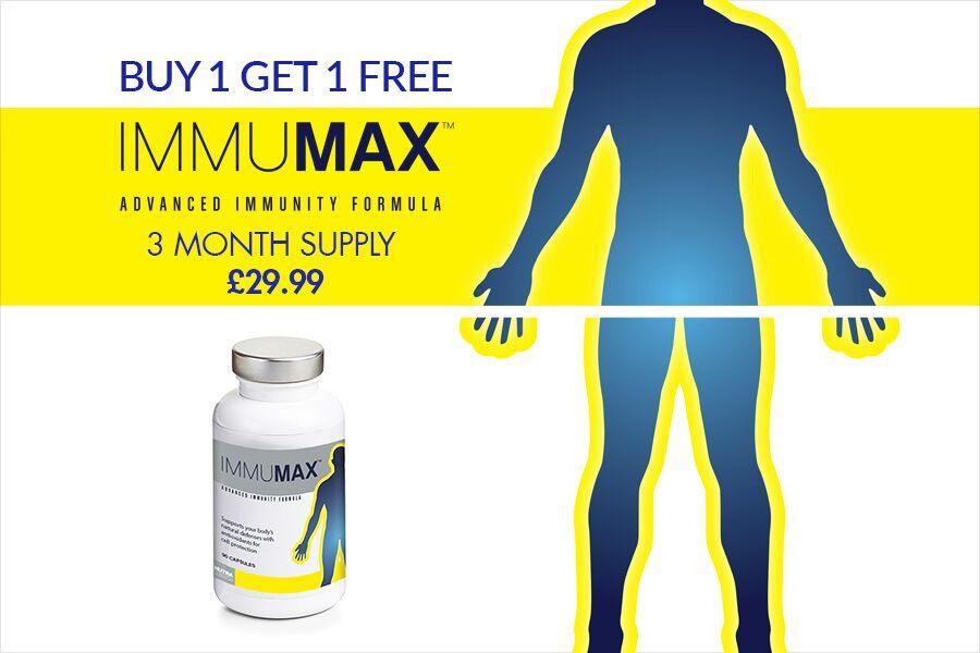 Vitamin Planet | 提高免疫力胶囊Immumax Protecta限时买一送一