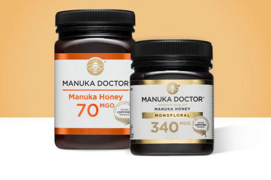 Manuka Doctor | 低至4折,原价£150的250g装1000MGO麦卢卡蜂蜜折后只需£60!