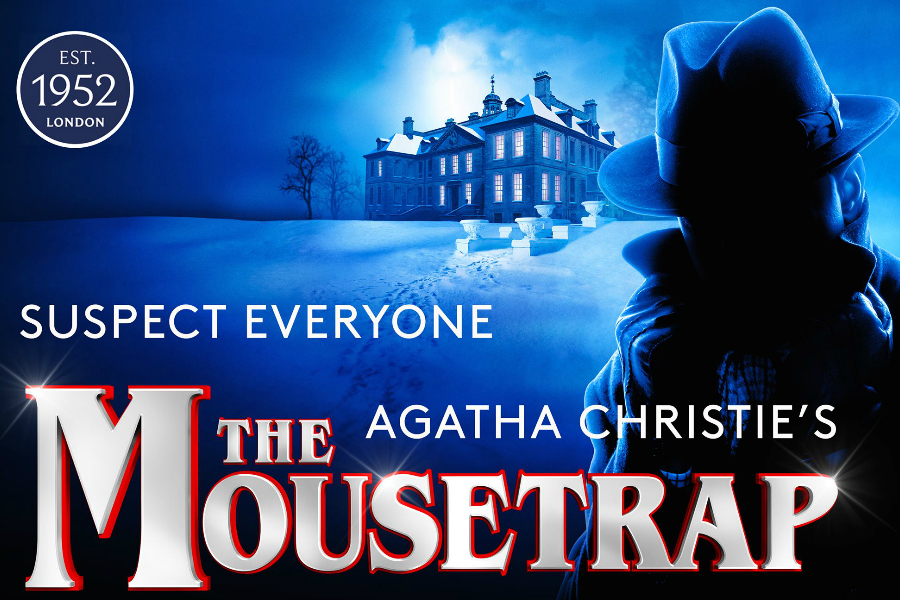 The Mousetrap捕鼠器 | 五星神剧限时免预订费,近距离观赏阿加莎·克里斯蒂经典作!