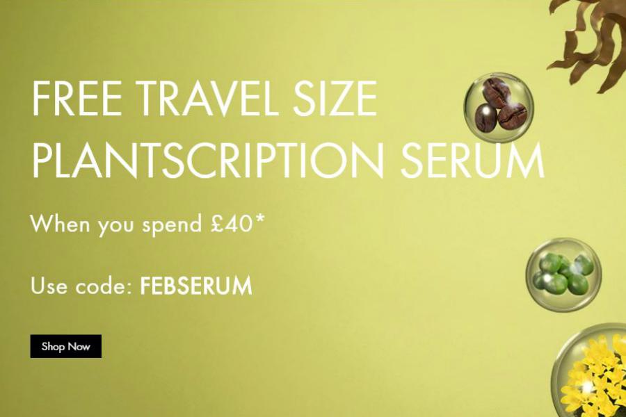 Origins | 满£40赠价值£20的榆绿木精华旅行装,收超粉嫩的新款卸妆啫喱!
