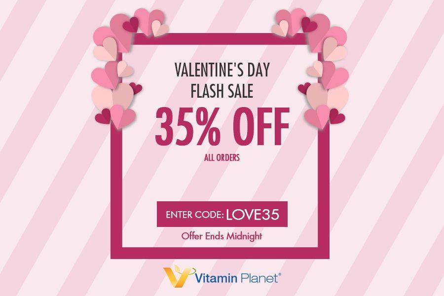Vitamin Planet | 人气保健品牌情人节一日闪促,王牌单品全线65折