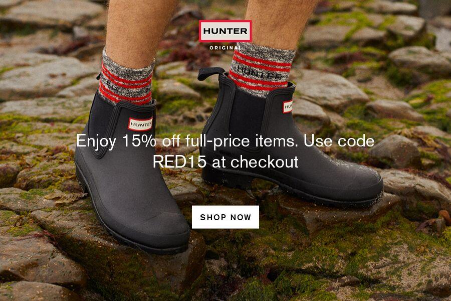 Hunter | 独家85折!功能性和时尚感兼具的雨天单品来拥有!