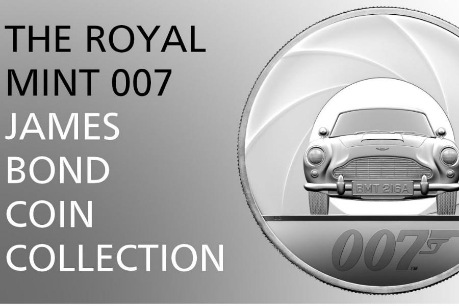The Royal Mint   全新007系列纪念币,重现电影经典画面,007迷们快来收藏!