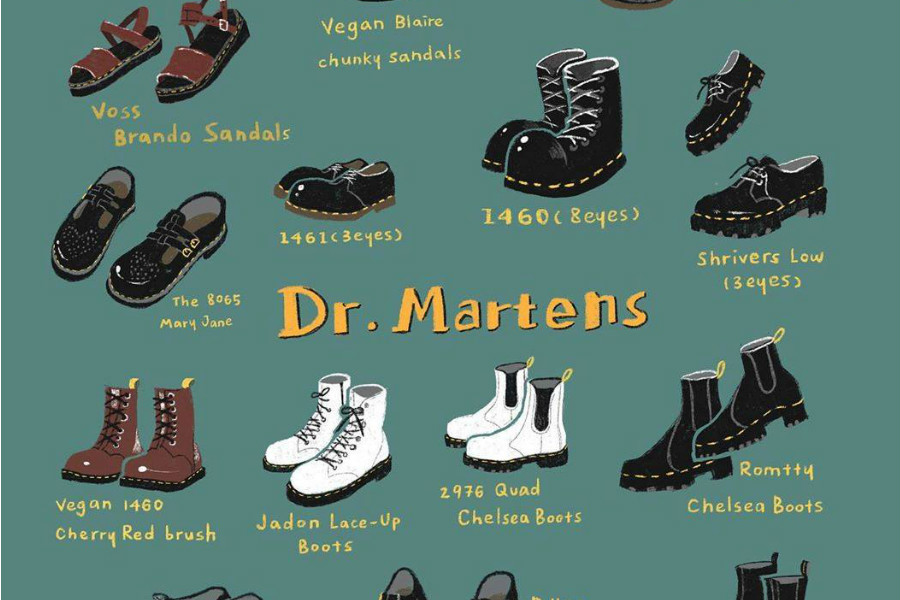Dr Martens   VIP限时75折!入手经典款、合作珍稀款马丁靴