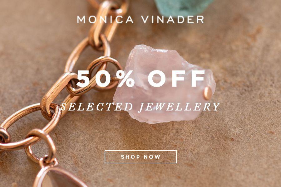 Monica Vinader | 精选首饰50%OFF,进来看看这一秒提升气质的唯美饰品!