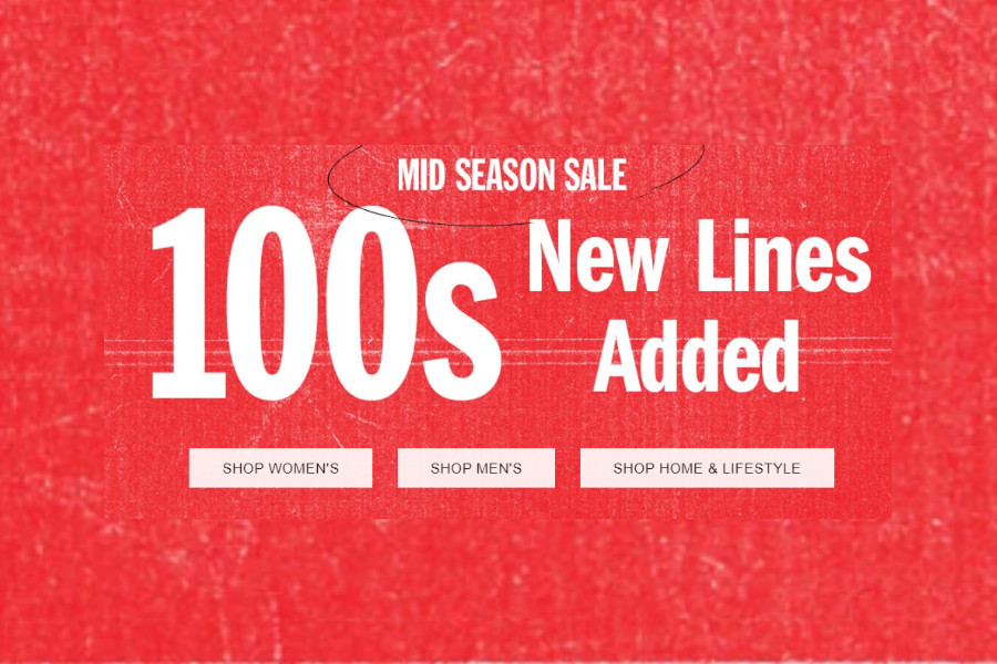Urban Outfitters | 季中低至5折更新,潮流T、连衣裙等超值新货上线!