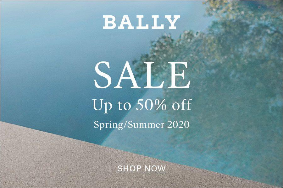 Bally | 夏季大促低至5折!复古小猫跟、实穿小白鞋和夏天锁住CP没错了!