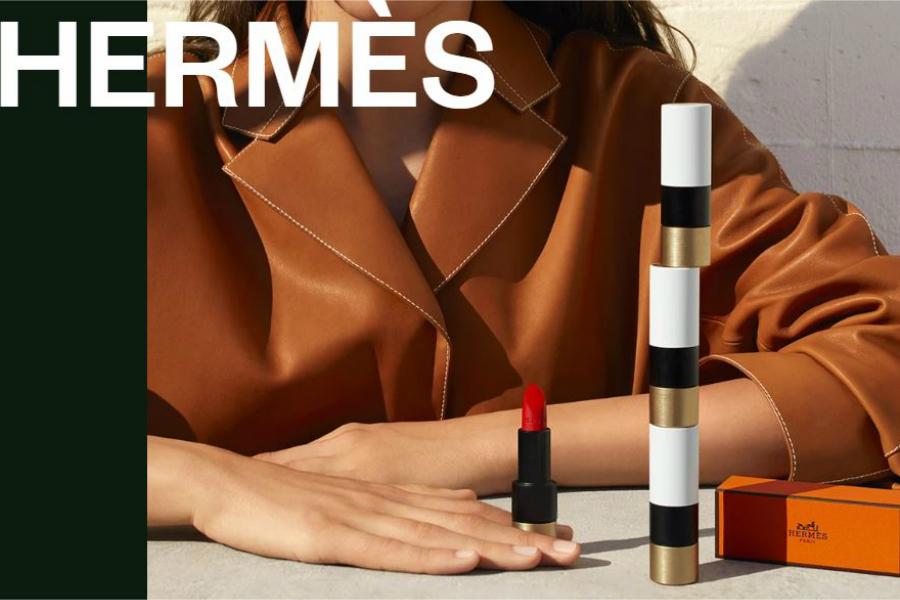 Hermes爱马仕口红限时9折!买不起它家包包,口红一定要拥有