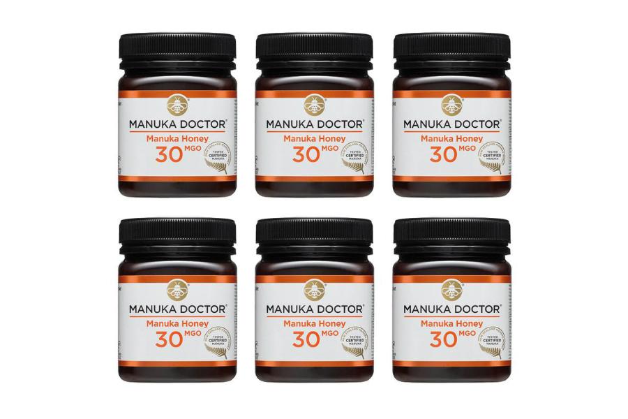 Manuka Doctor | 麦卢卡蜂蜜6罐装直减£260,折后满£75享额外9折