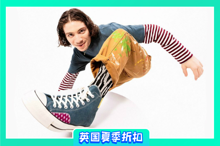 Converse | 精选款新款正价5折,合作款、大热马卡龙Renew系列都在!