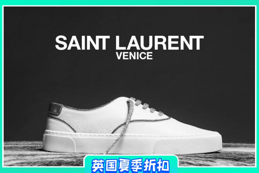 Saint Laurent | 鞋履大促低至6折,人气小白鞋尺码超全!