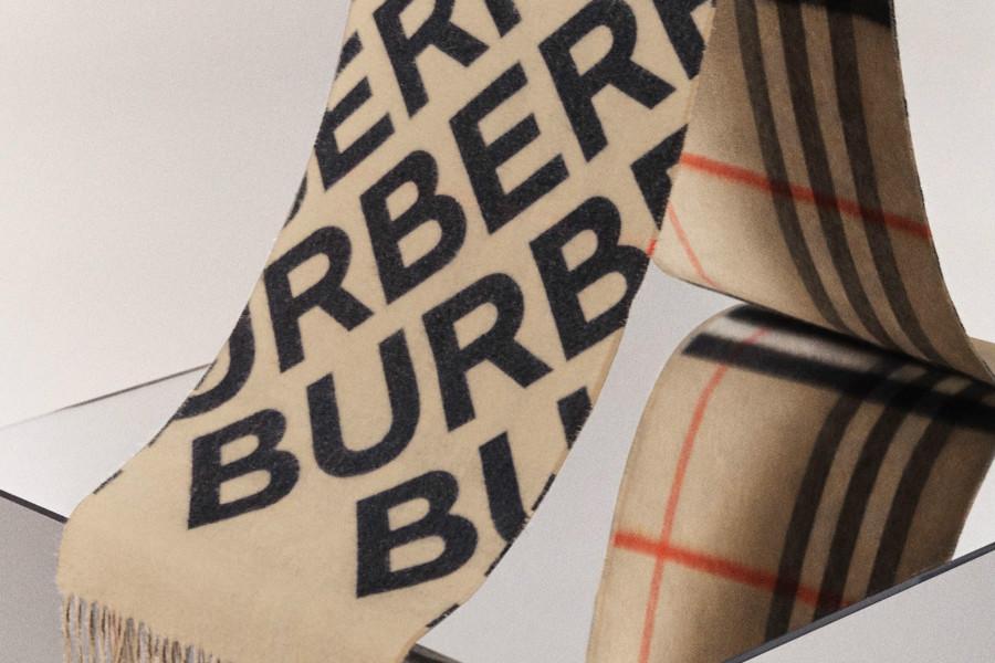 Burberry | 低至5折加入折扣区,经典格纹围巾、斑马纹TB logo包、秀款高跟鞋来收!