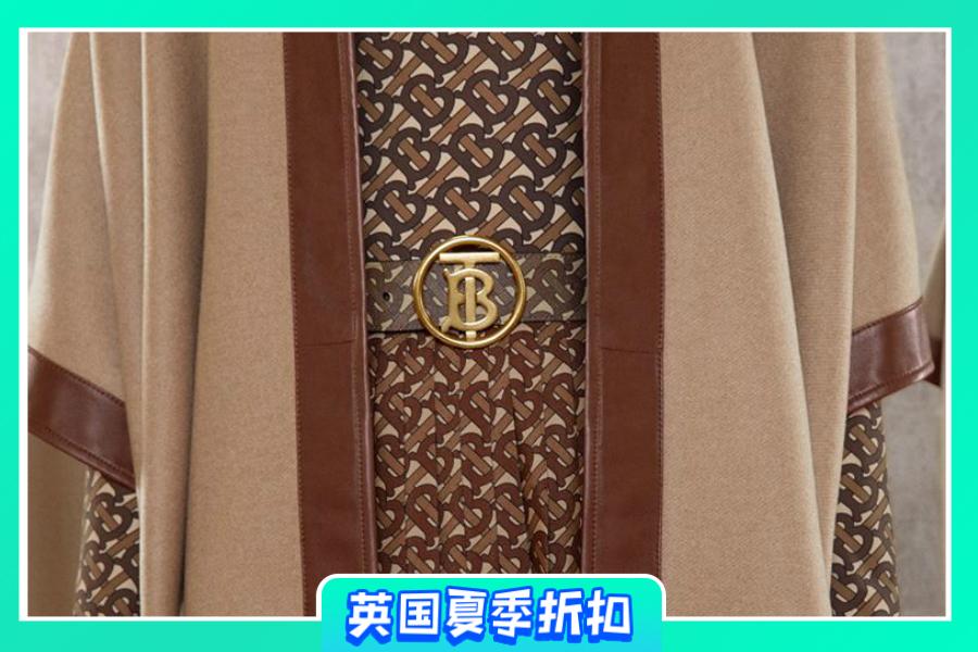 Burberry | 夏季大促新款低至5折!经典格纹单品、TB Logo包包超值入手!