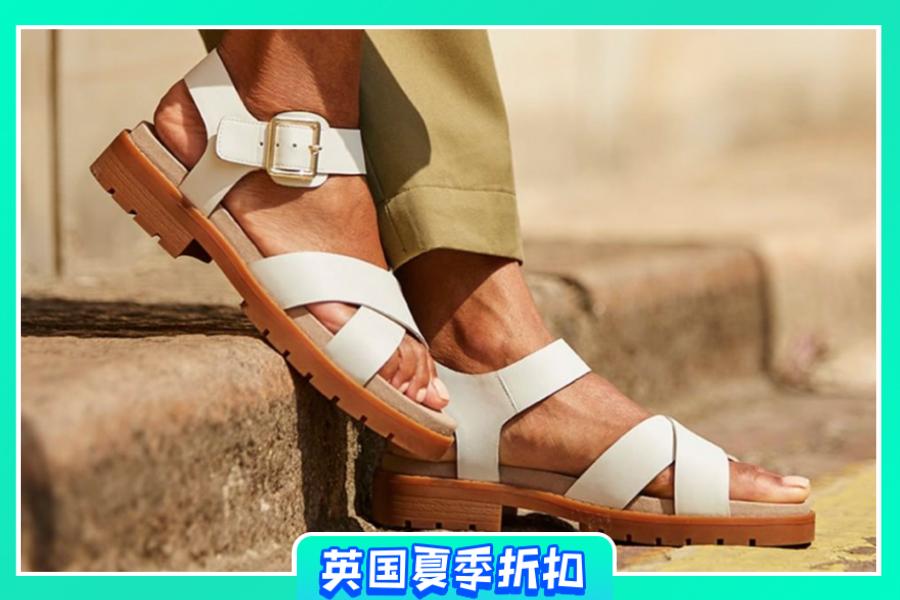 Clarks | 折扣区低至4折+买童鞋即享成人正价款8折!来入轻便透气的夏天单鞋!