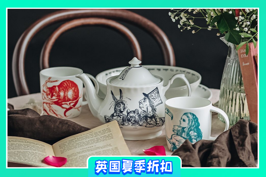 Whittard of Chelsea | 精选8折!爱丽丝梦游仙境圆罐茶仅需£6.4!