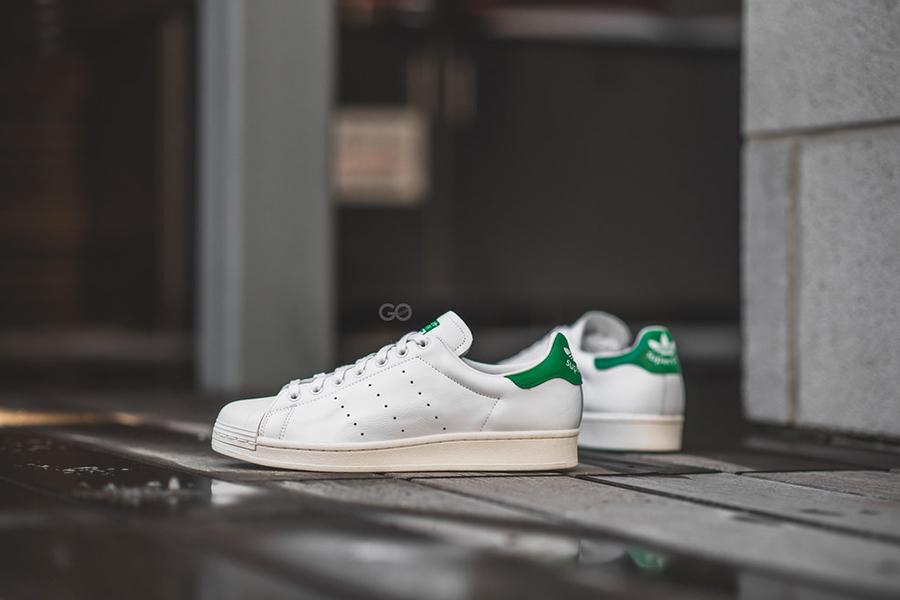 Adidas全场75折,可叠加折扣区!绿尾小白鞋折后£45!