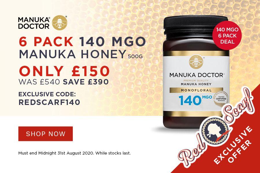 有益肠胃健康!麦卢卡蜂蜜特惠,£25一罐就开始养生!