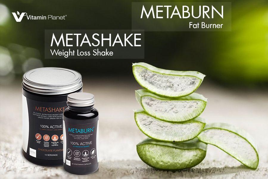 Metaburn减脂胶囊+减重奶昔代餐独家6折,仅£50