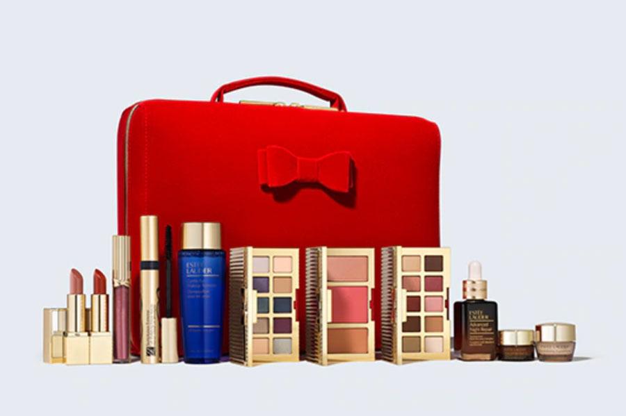 雅诗兰黛2020圣诞礼包开售!仅£69收32件单品,还含正装小棕瓶!