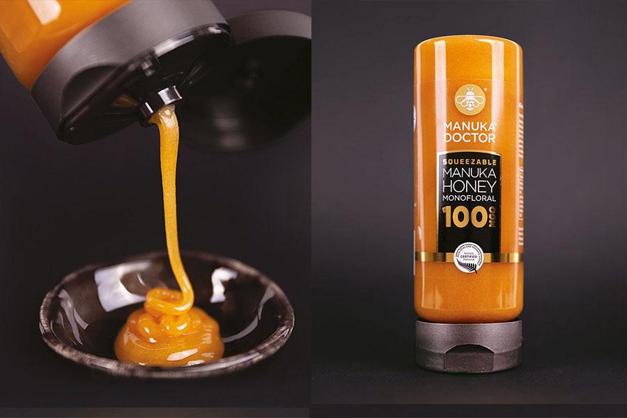 麦卢卡蜂蜜挤压瓶装独家最低26折,£20开启元气满满一天