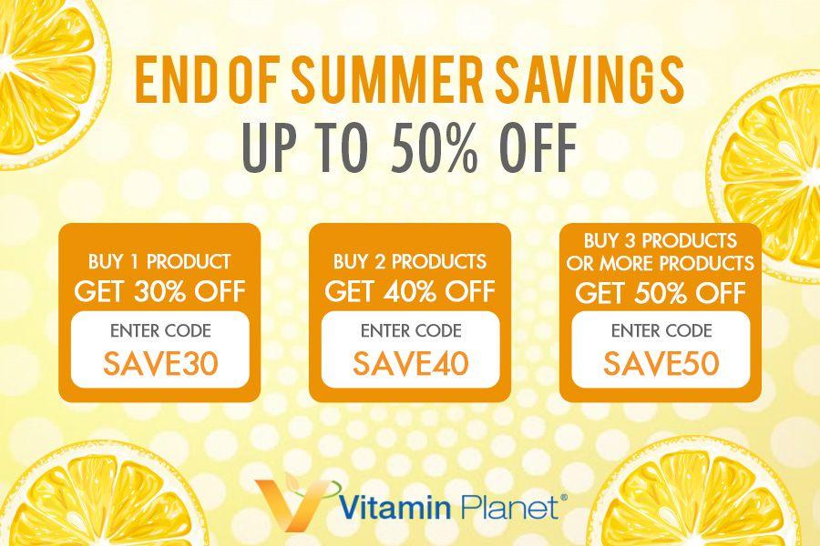 Vitamin Planet夏末满减低至5折!秋补的保健品都囤好了吗?