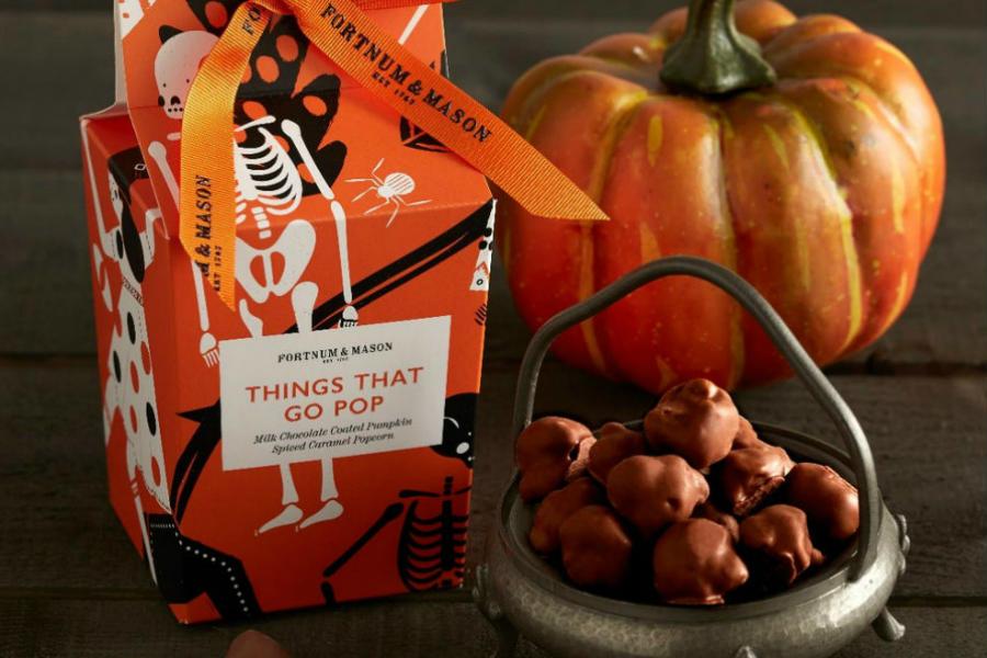 Fortnum & Mason 福南梅森Halloween万圣节巧克力、糖果限时75折!