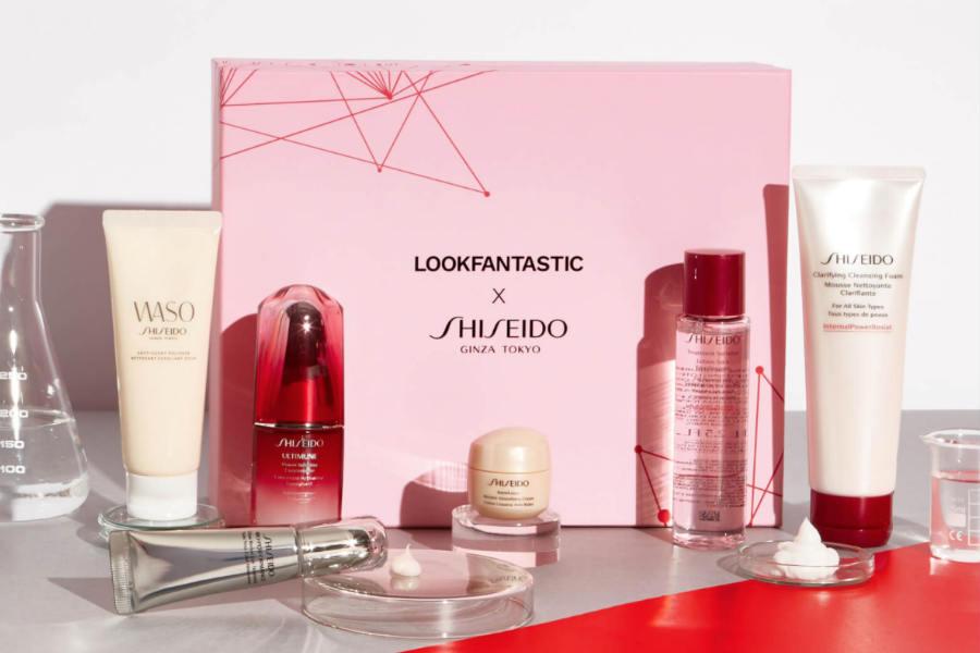 LOOKFANTASTIC x 资生堂限量版礼盒仅£79!总价值超过£212!