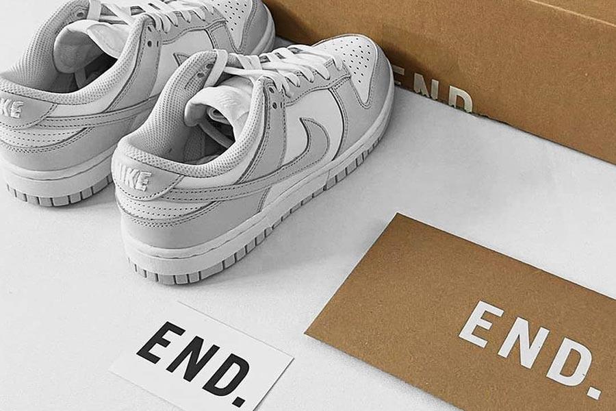 END.大促额外8折!低至3.2折收麦昆、马丁靴、Nike、Off-White