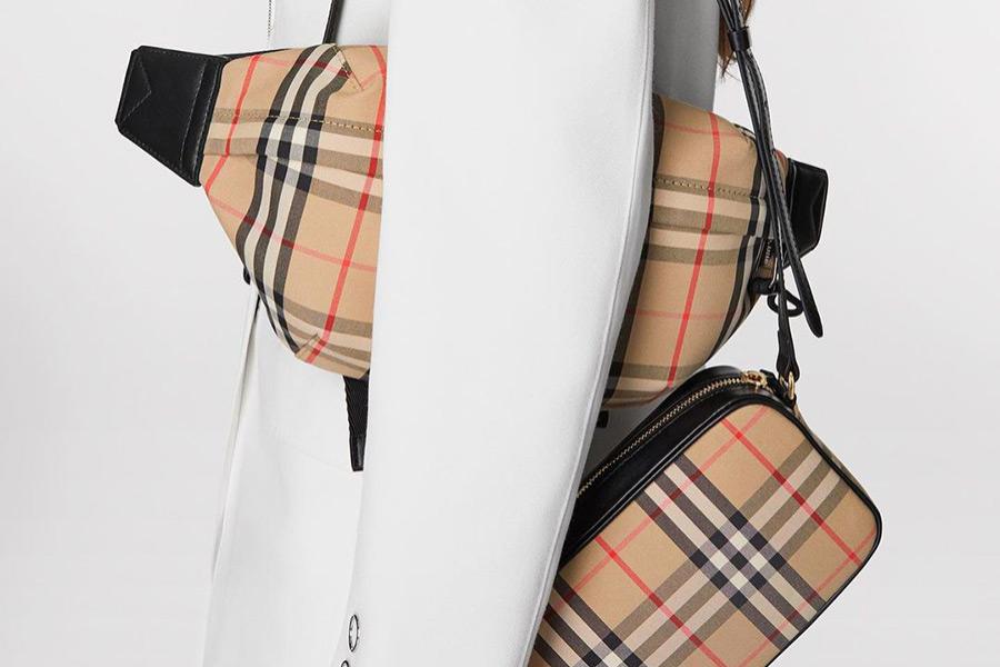Burberry全场65折!经典格纹围巾、新老花包袋超值入手