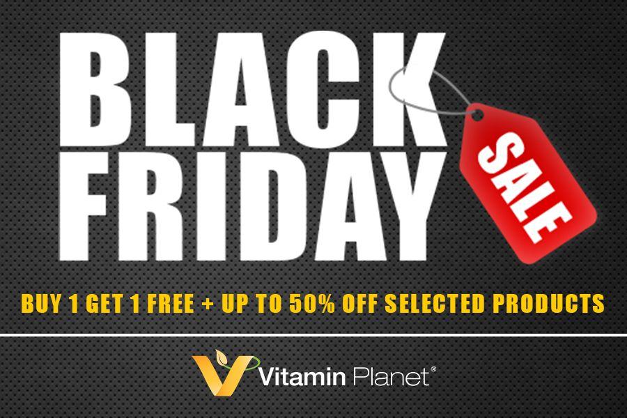 Vitamin Planet黑五大促,畅销保健品买1赠1+额外9折,可混搭!