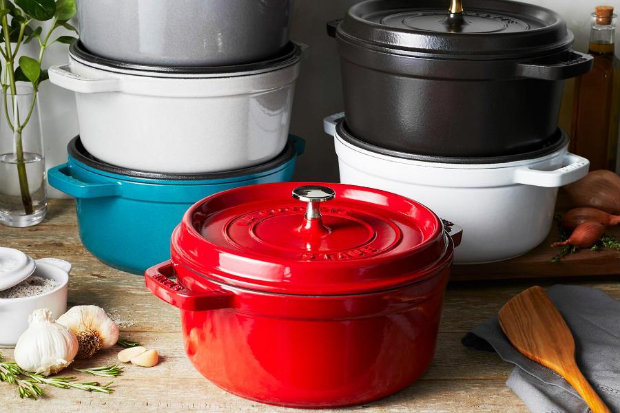 Staub厨具低至5折,高端铸铁锅、珐琅锅直送到家