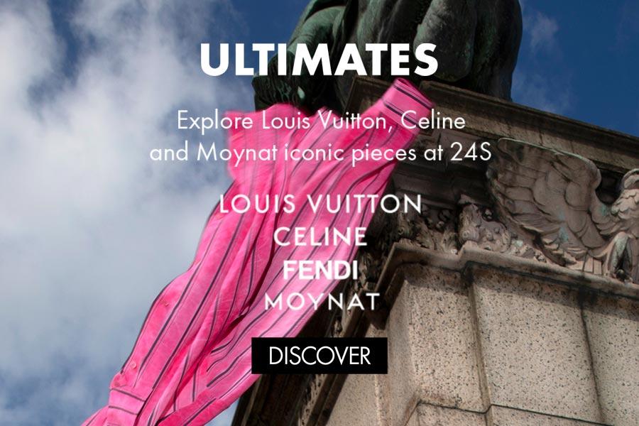 罕见重磅!24S全网独家发售LV、Celine、Fendi、Moynat绝版珍品!