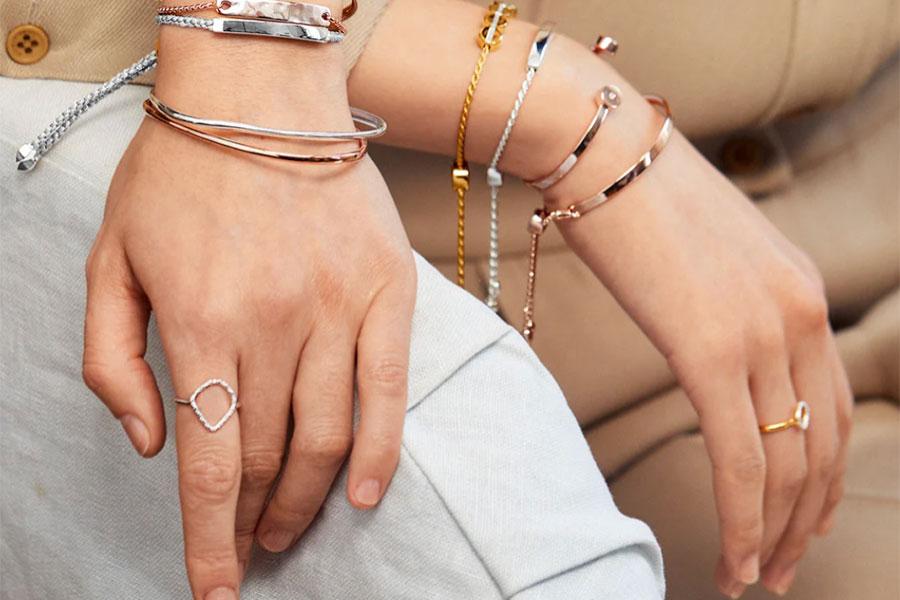 轻奢珠宝Monica Vinader独家限时85折!收经典手绳、热门珍珠首饰