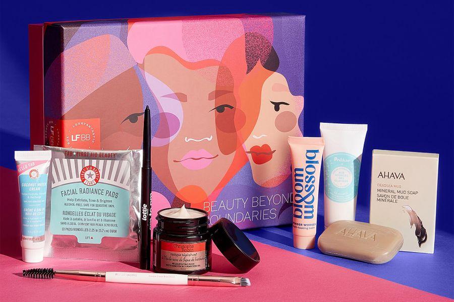 LOOKFANTASTIC超值礼盒,15镑get价值55镑美妆护肤单品!