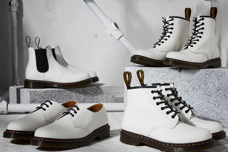 Dr.Martens马丁靴低至6折!收白色、绿色新款8孔靴,清新又亮眼