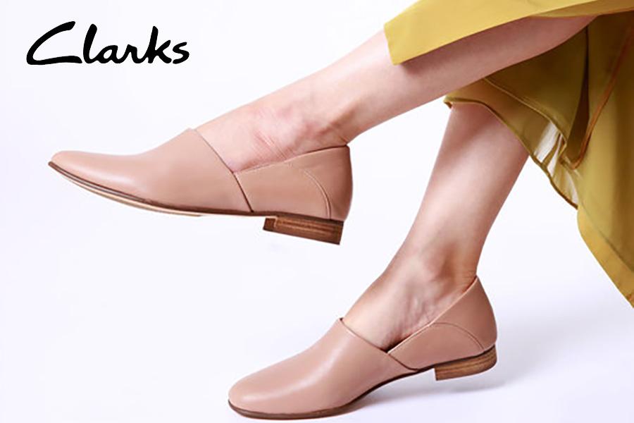 Clarks季中大促5折起!£50收气质单鞋,高街价格入手大牌品质