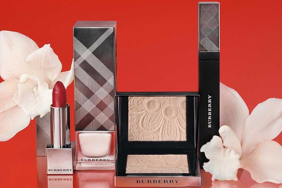 Burberry美妆4折+送唇釉今日截止!粉底液、唇膏、眼影十几镑!