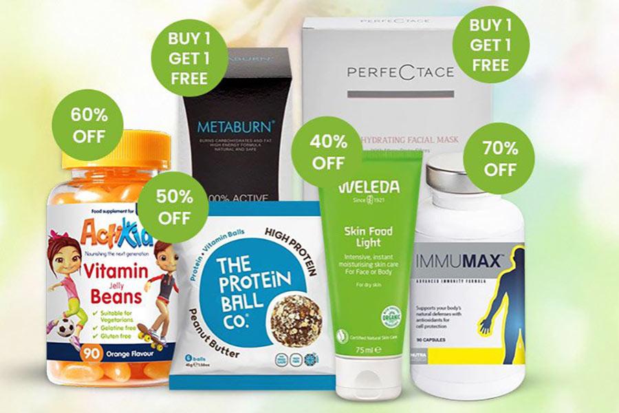 Vitamin Planet提升免疫力保健品27折收!热卖保健品买一送一进行中