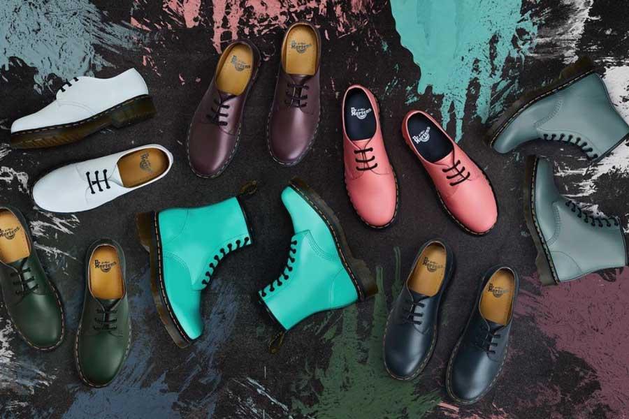 Dr.Martens季中大促低至3.6折,男女马丁靴新款、布洛克鞋、切尔西靴
