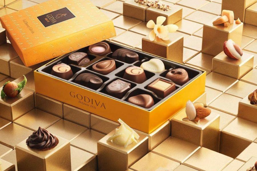 Godiva巧克力大促区低至4折,£0.9的巧克力bar来不来?