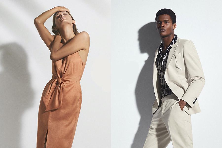 Reiss精选新品85折+折扣区4折!收精致衬衫、连衣裙、干练西装外套